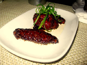 Birch Beer wings at Supper. (credit: Suzanne Woods)