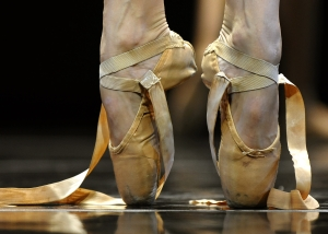 ballet shoes GETTY