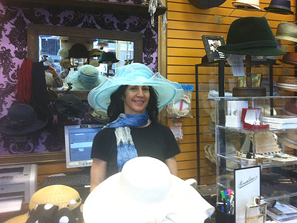 Even In Philadelphia The Hat Is A Must Have For Royal Wedding Day
