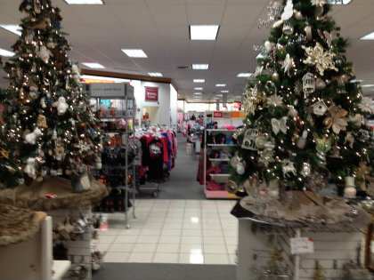 Department Stores Get An Extra Early Start On Christmas