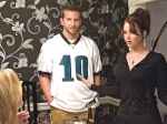 "(Bradley Cooper and Jennifer Lawrence star in ""Silver Linings Playbook."")"