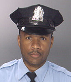 (Officer Moses Walker.  Phila. PD photo)