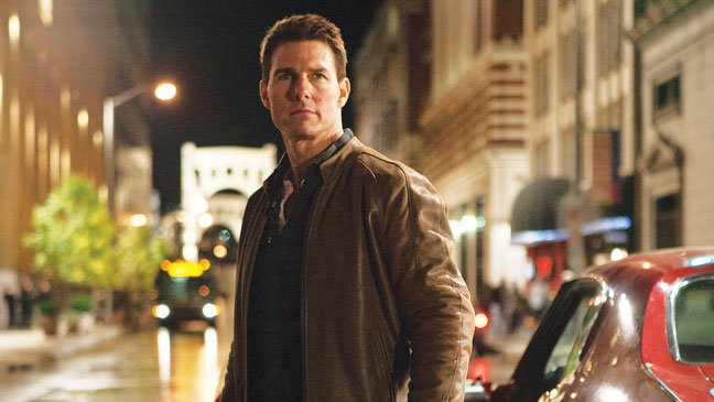 "(Tom Cruise is the title character in the action flick ""Jack Reacher."")"