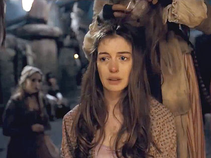 (Anne Hathaway stars as Fantine in the latest screen version of Victor Hugo's classic.)