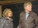"""(Julie Christie and Robert Redford in """"The Company You Keep."""")"""