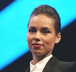 (Alicia Keys at the Blackberry 10 event.  Credit: Mario Tama/ Getty Images)