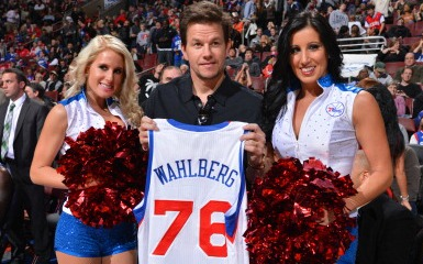 Mark Wahlberg (Photo by Jesse D. Garrabrant/NBAE via Getty Images)