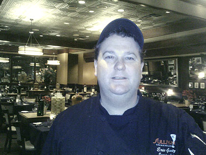 (Eric Gantz, executive chef at Sullivan's Steakhouse in King of Prussia.  Photo provided)