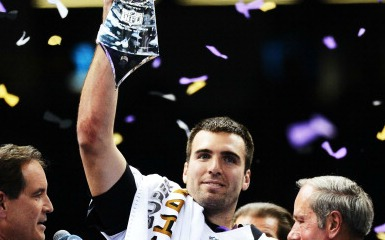 Joe Flacco (Photo by Harry How/Getty Images)