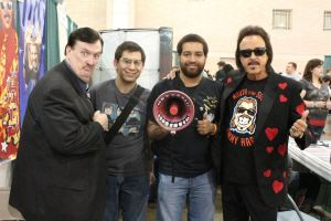 William Moody, FMQB's Joey O., KYW's Andre Bennet, Jimmy Hart