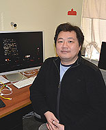 (Drexel professor Frank Lee, in his office.  Photo provided)
