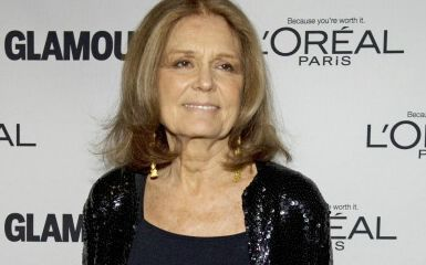 Gloria Steinem (AFP PHOTO/DON EMMERT)