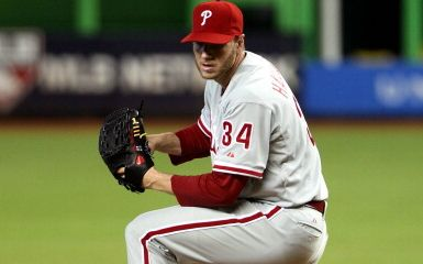 Roy Halladay (Photo by Marc Serota/Getty Images)