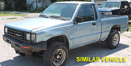 (West Whiteland police distributed this photo of a truck similar to the one driven in a road rage incdent on Monday.)