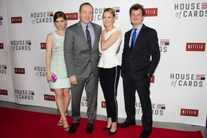 Outstanding Drama Series: House Of Cards • Netflix • Donen/Fincher/Roth and Trigger StreetProductions, Inc. in association with Media Rights Capital for Netflix
