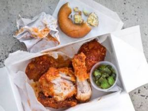 Federal Donuts' fried chicken. (credit: Michael Persico)