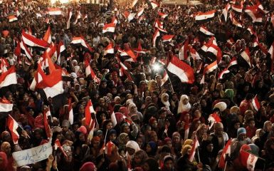 Tahrir Square in Cairo on the 4th of July (Photo by Ed Giles/Getty Images)