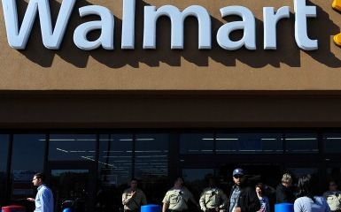 Walmart (Photo credit FREDERIC J. BROWN/AFP/Getty Images)