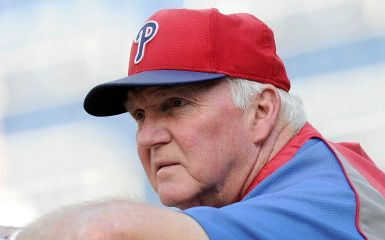 Charlie Manuel (Photo by Greg Fiume/Getty Images)