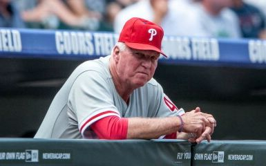 Charlie Manuel (Photo by Dustin Bradford/Getty Images)