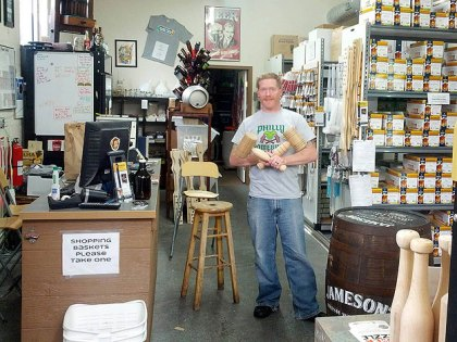 (Jimmy McMillan, owner of Philly Homebrew Outlet, in Kensington.  Photo provided)
