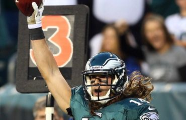 Riley Cooper  (Photo by Elsa/Getty Images)