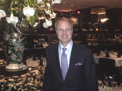 (Garth Weldon, general manager of The Prime Rib.  Photo provided)