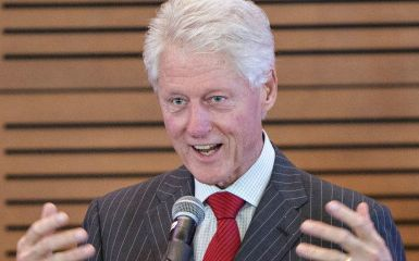 Bill Clinton (Photo by Wesley Hitt/Getty Images)