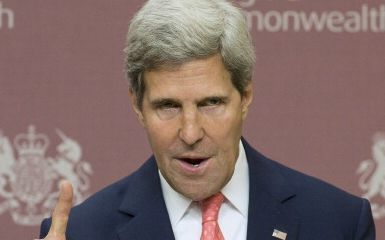 John Kerry (Photo credit ALASTAIR GRANT/AFP/Getty Images)