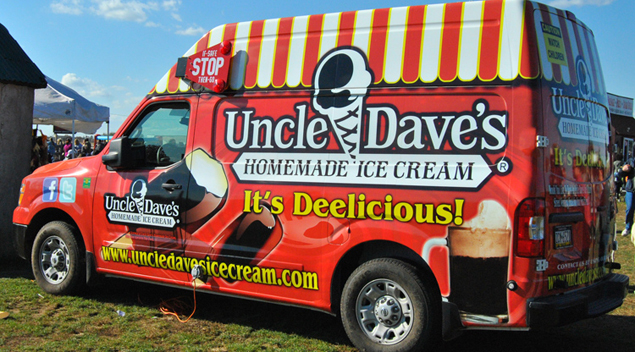 Uncle Dave's Homemade Ice Cream (Credit, Michelle Hein)