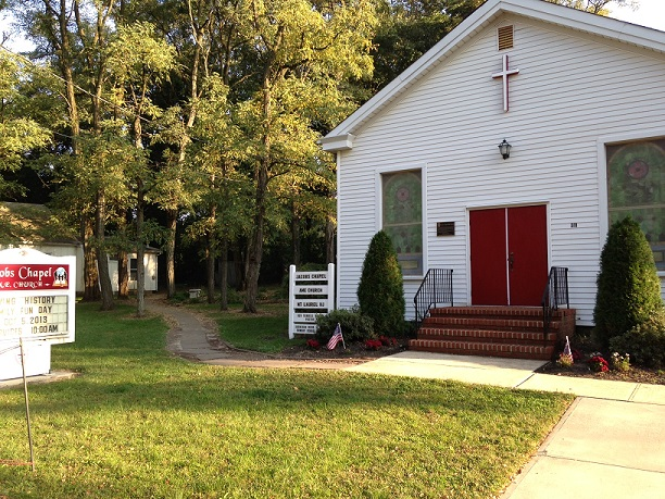 Jacobs Chapel Opens Its Doors And Unveils 200 Years Of