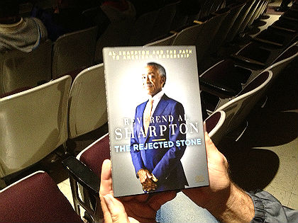 (Reverend Al Sharpton's Book, The Rejected Stone: Al Sharpton and the Path to American Leadership. Credit: John McDevitt)