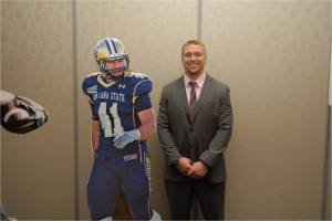 Montana State's Brad Daly earned the Buchanan Award. (Photo by Andrew Grant/Sports Network)