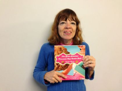 Carolyn Wyman, author of 'The Great American Chocolate Chip Cookie Book.' (credit: Hadas Kuznits)