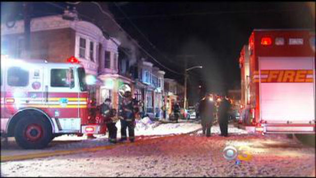 Fire Crews Battle 2-Alarm Blaze, Weather In Camden – CBS Philly