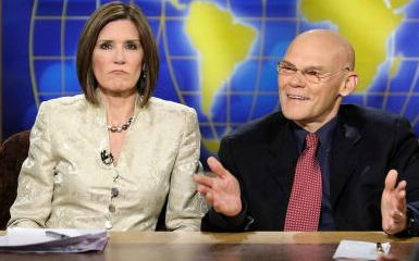 Mary Matalin and James Carville (Photo by Alex Wong/Getty Images for Meet the Press)