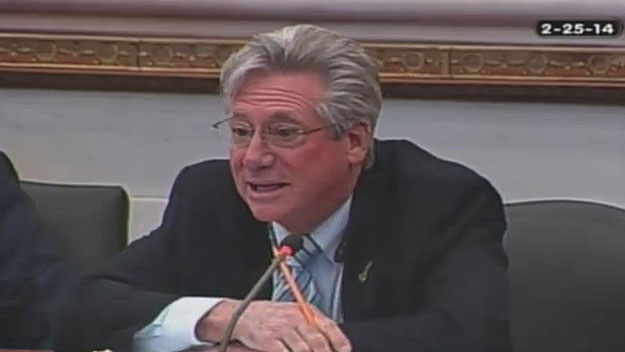 (City councilman-at-large Dennis O'Brien.  Image from City of Phila. TV)