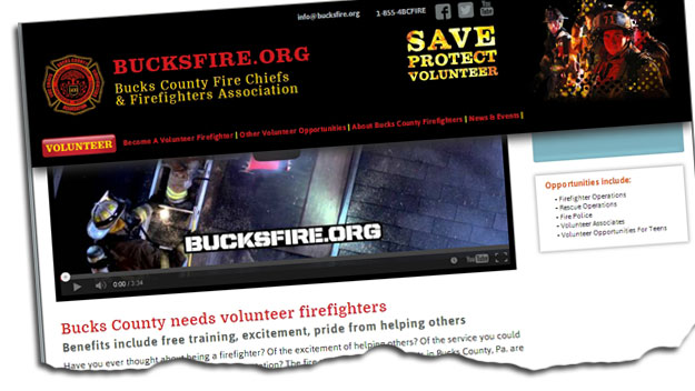 Bucks Volunteer Firefighter Groups Hoping to Refresh