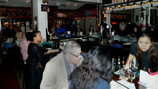 (The bar area at Cleopatra's Needle, in NYC.  Photo by Jay Lloyd)