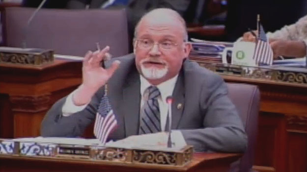 (Councilman William Greenlee.  Image from City of Phila. TV)