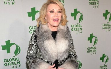 Joan Rivers (Photo by Alberto E. Rodriguez/Getty Images for GLOBAL GREEN USA)