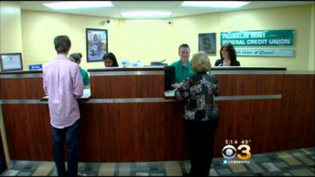 Franklin Mint Federal Credit Union – CBS Philly