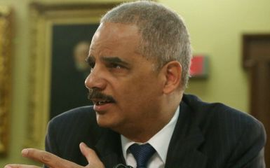 Eric Holder  (Photo by Mark Wilson/Getty Images)
