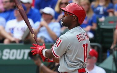 Jimmy Rollins (Photo by Ronald Martinez/Getty Images)