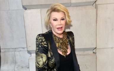 Joan Rivers (Photo by Astrid Stawiarz/Getty Images)