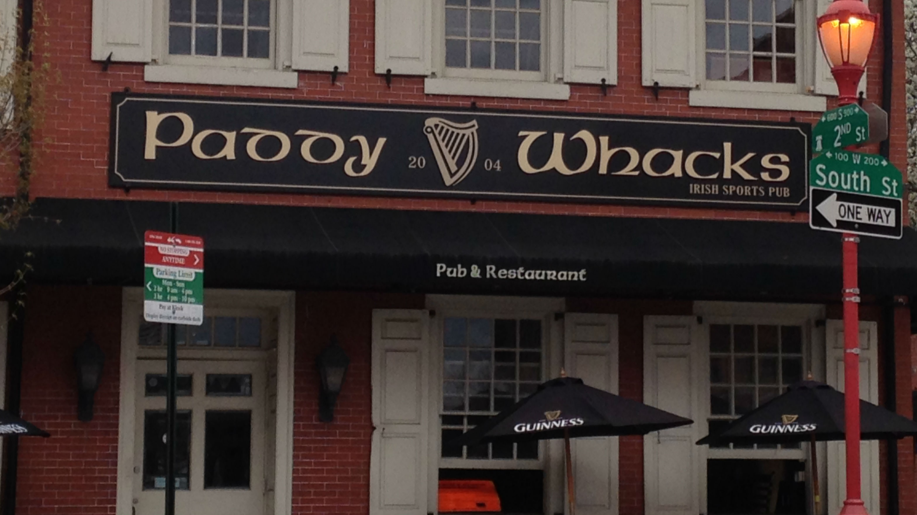 Paddy Whacks on South Street, one of many bars throughout Philadelphia participating in the World's Largest Bar Crawl. (Credit: Andrew Kramer)
