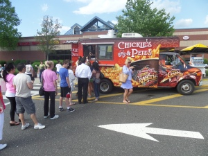 The Crabfries Express truck will be on hand at Farley Plaza on Friday. (credit: CBS)