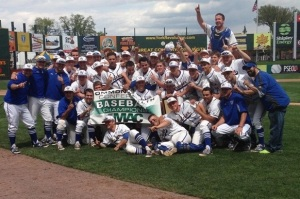 Widener won the Commonwealth Conference to get into the NCAA Tournament (credit: Widener University Athletics)