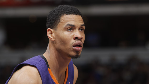 SACRAMENTO, CA - APRIL 16: Gerald Green #14 of the Phoenix Suns in a game against the Sacramento Kings on April16, 2014 at Sleep Train Arena in Sacramento, California.  (Photo by Rocky Widner/NBAE via Getty Images)