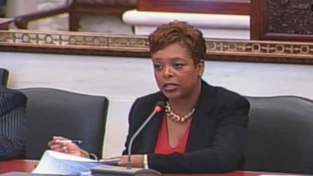 (Councilwoman Cindy Bass, in file photo.  Image from City of Phila. TV)